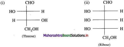 Maharashtra Board Class 12 Chemistry Solutions Chapter 14 Biomolecules 20