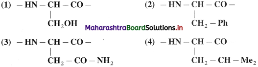 Maharashtra Board Class 12 Chemistry Solutions Chapter 14 Biomolecules 82