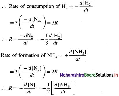 Maharashtra Board Class 12 Chemistry Solutions Chapter 6 Chemical Kinetics 10
