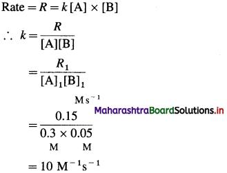 Maharashtra Board Class 12 Chemistry Solutions Chapter 6 Chemical Kinetics 105