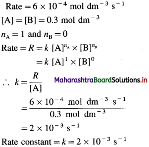 Maharashtra Board Class 12 Chemistry Solutions Chapter 6 Chemical Kinetics 51