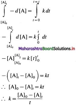Maharashtra Board Class 12 Chemistry Solutions Chapter 6 Chemical Kinetics 73